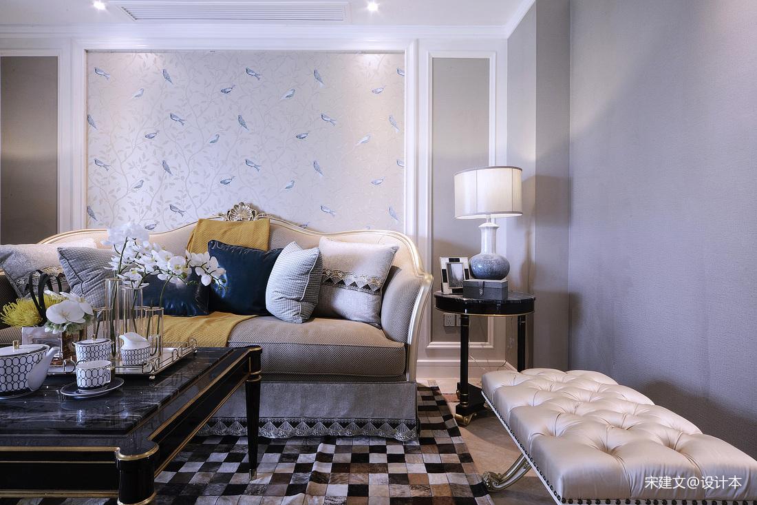 精致117平北欧三居客厅装潢图