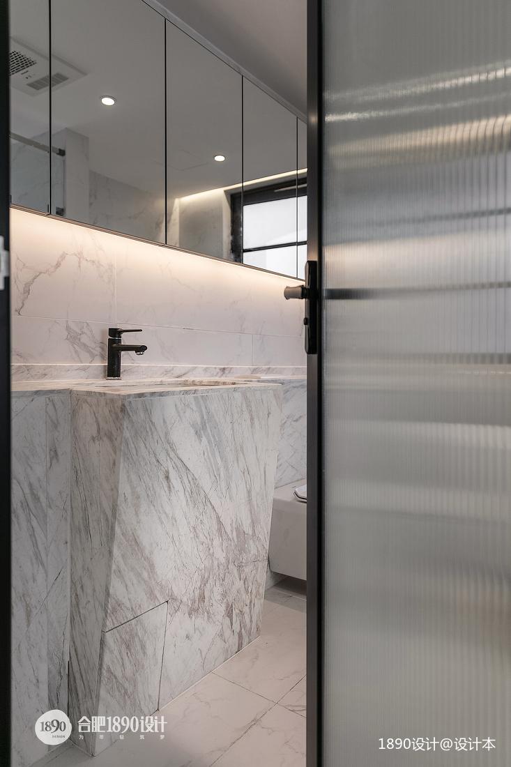 輕奢152平法式四居衛生間裝修裝飾圖
