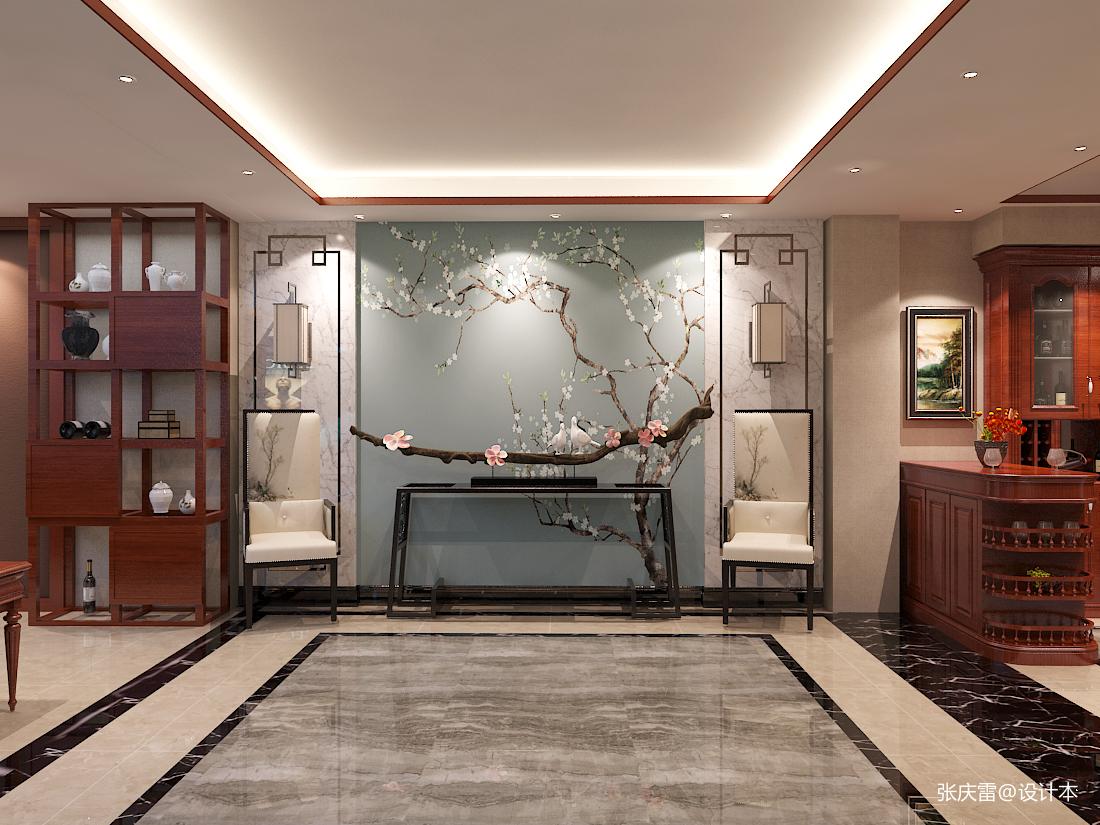 观山闲居中式别墅室内设计_3532392