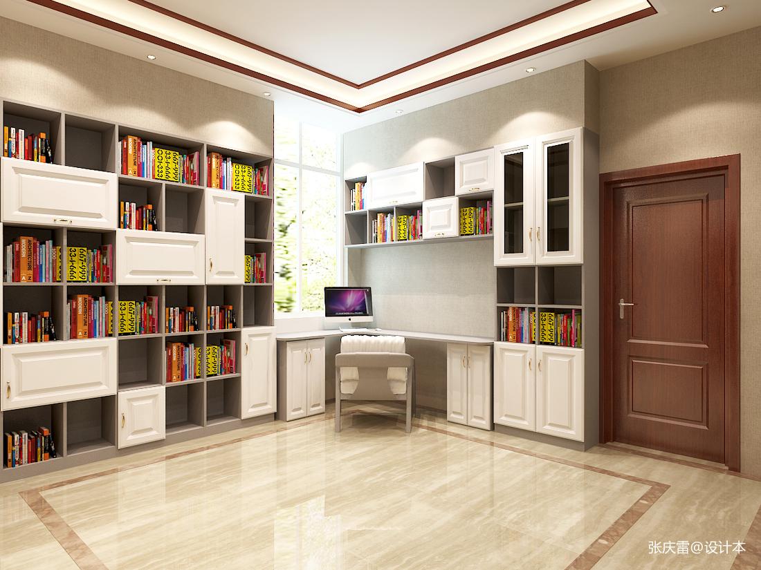观山闲居中式别墅室内设计_3532396