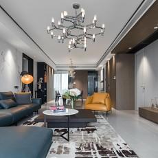 温馨99平简约三居客厅设计美图