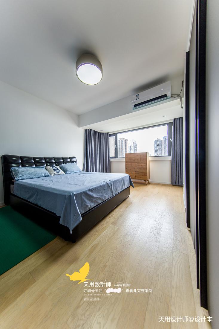 温馨146平北欧四居卧室实景图片