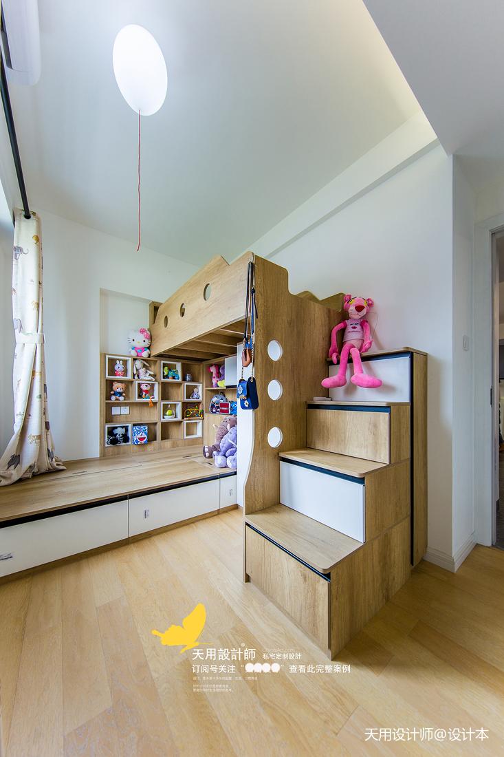 质朴138平北欧四居儿童房效果图片大全