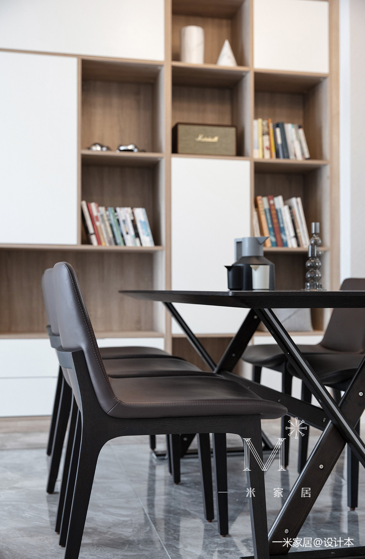 优美73平现代二居装修案例