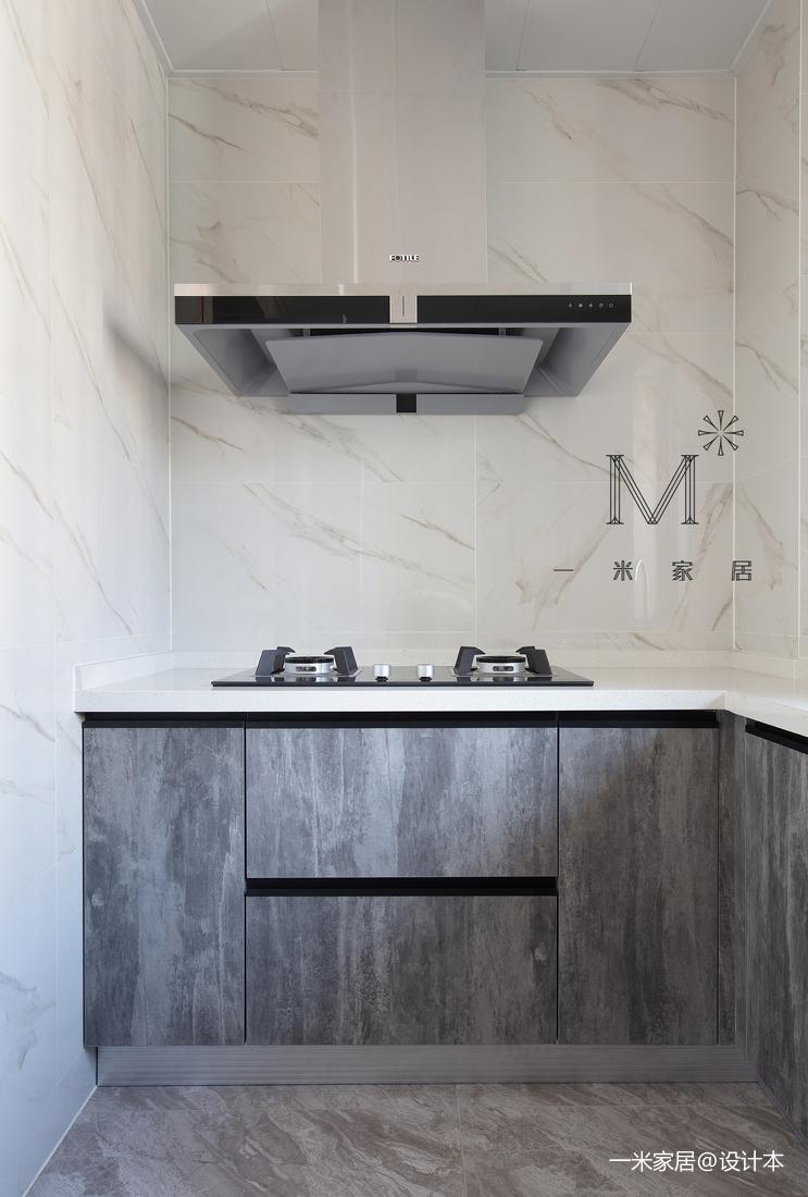 105㎡现代北欧厨房设计图