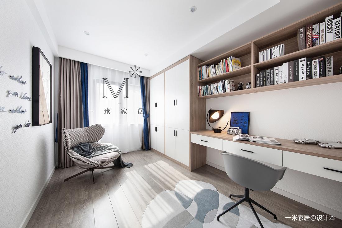 质朴56平现代二居装修图片
