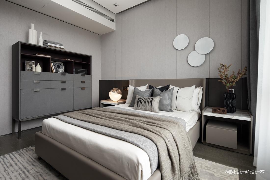 260平大平层样板房卧室实景图