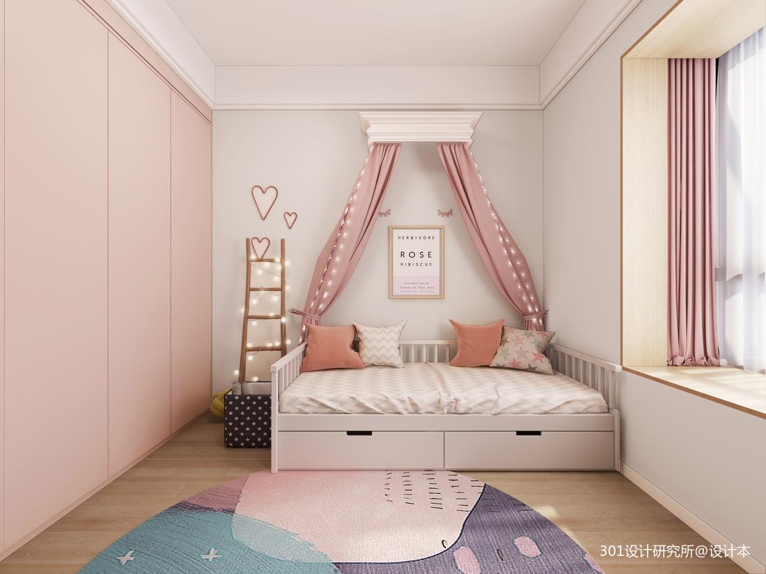 华丽58平北欧复式儿童房实拍图