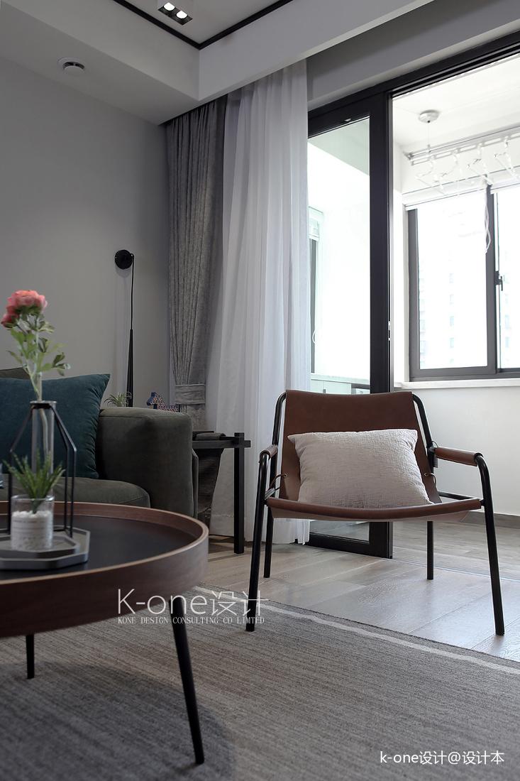 优雅118平简约三居客厅装饰图片