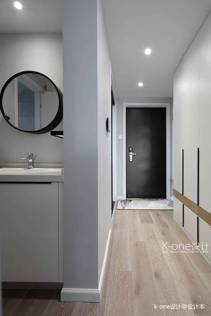 2019123平简约三居卫生间设计效果图