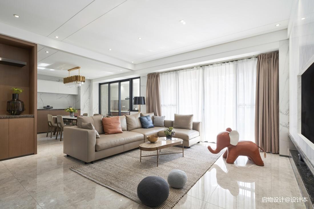 禅意中式客厅沙发图