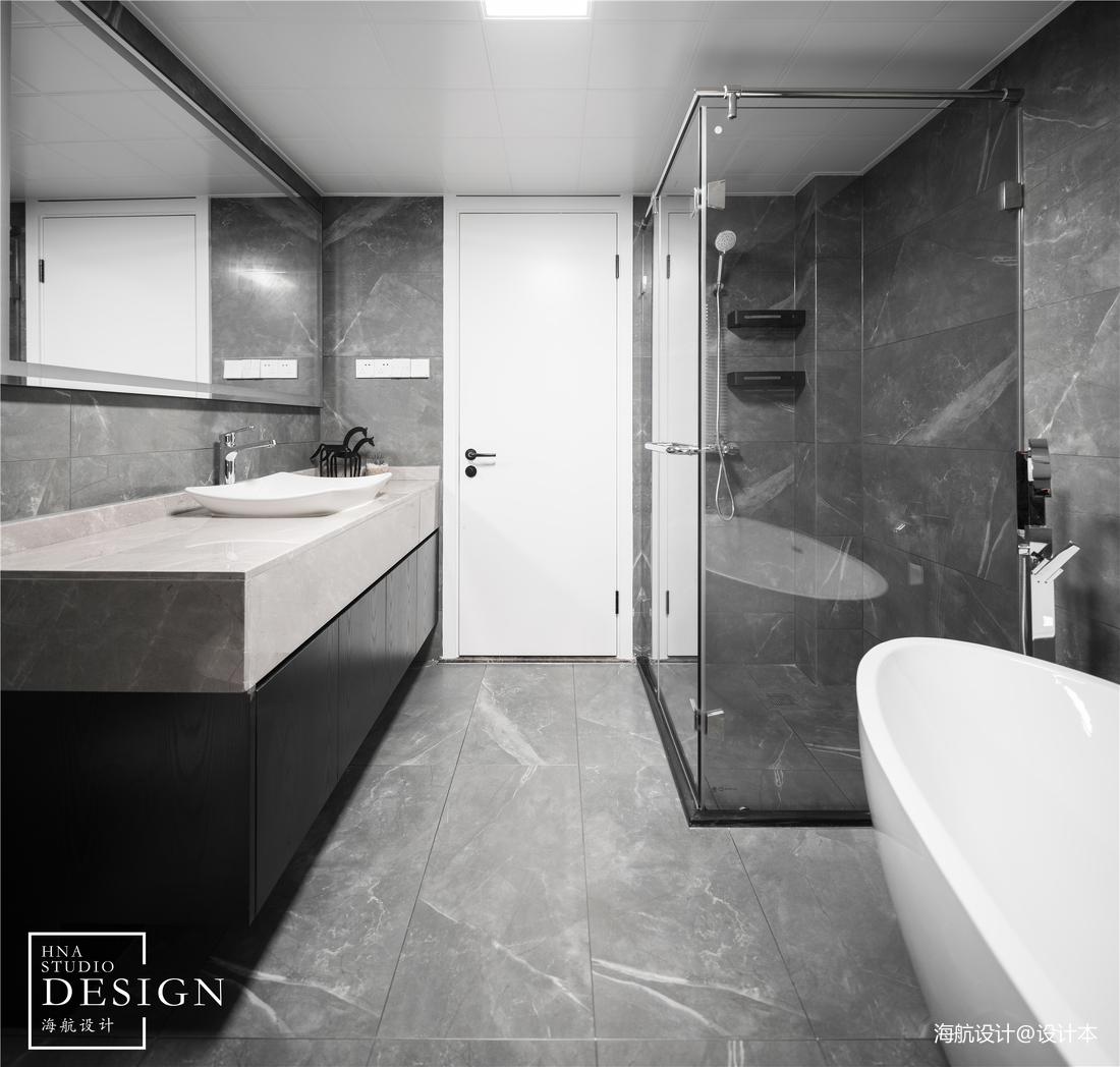 时尚现代风卫浴设计图