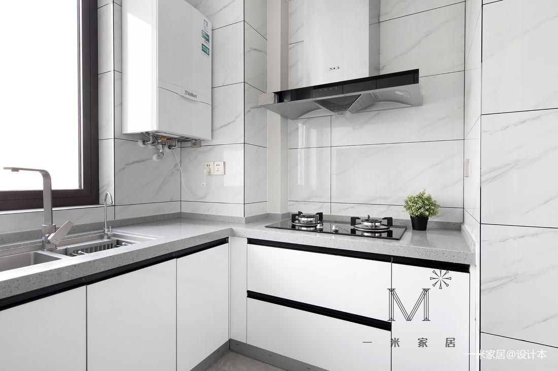 140㎡现代二居厨房设计图