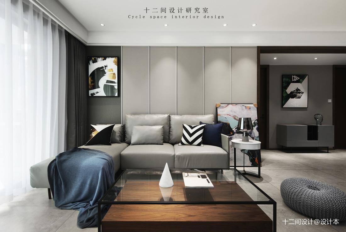 精致86平現代三居臥室裝修圖