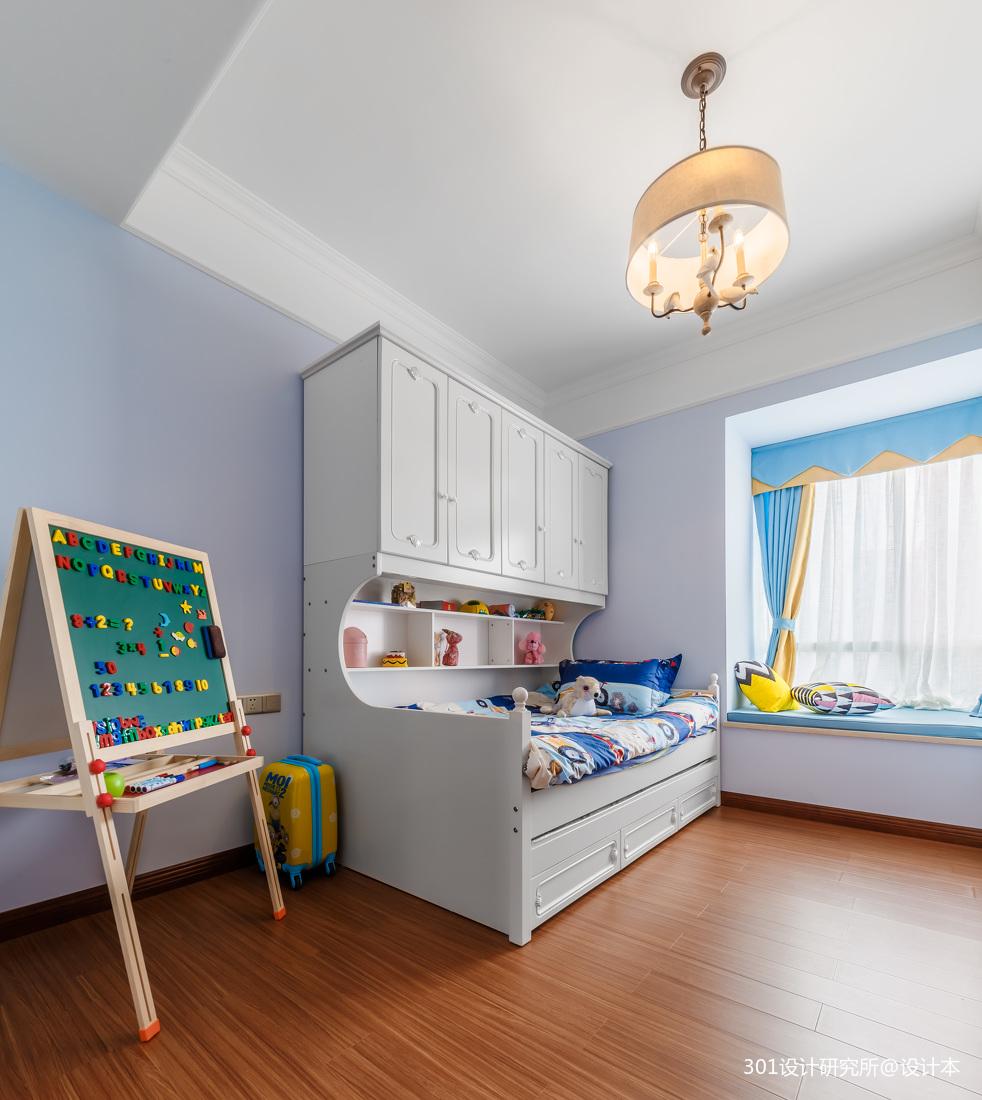 优雅72平美式二居儿童房设计美图