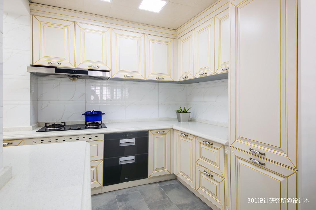 明亮571平法式别墅厨房实景图