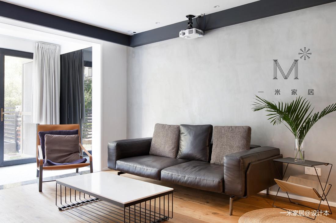质朴77平现代二居设计案例