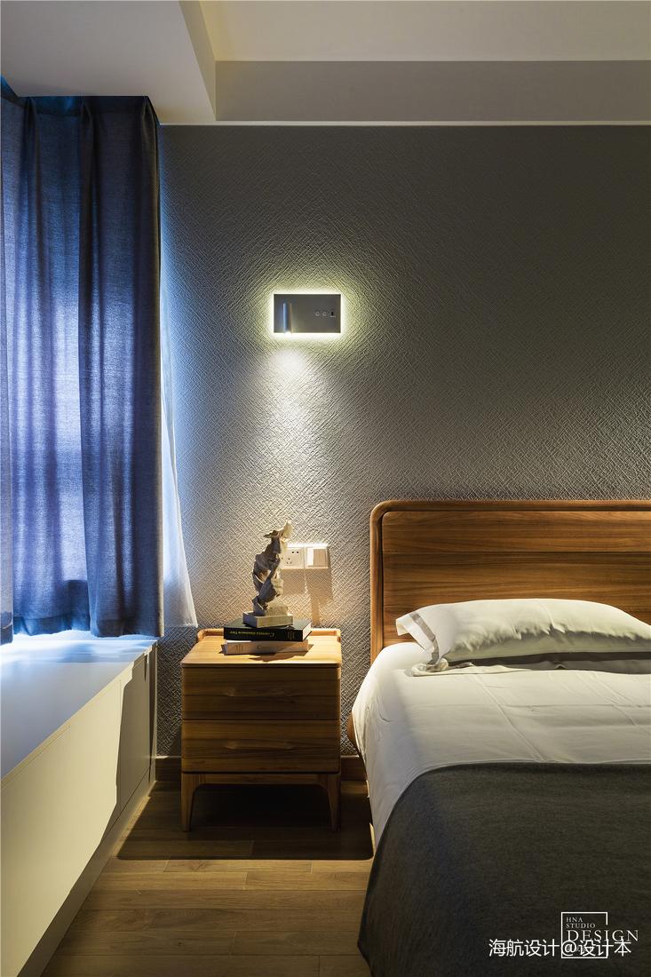 精美85平北欧三居卧室实拍图