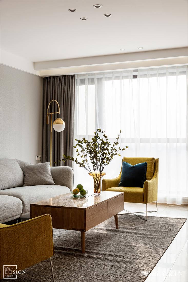 优雅104平北欧三居客厅设计效果图