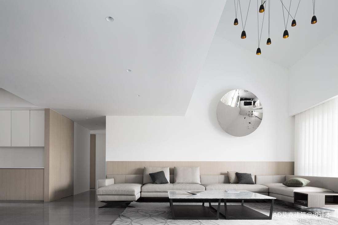 精致230平现代复式客厅设计效果图