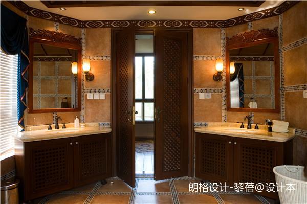 精致397平欧式别墅卫生间图片欣赏