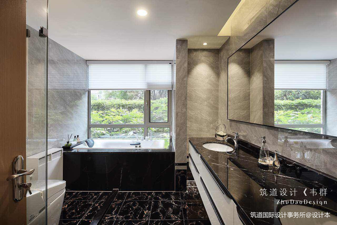 温馨358平中式别墅卫生间图片大全