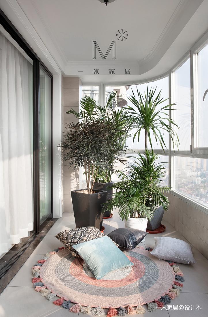典雅62平现代二居设计案例
