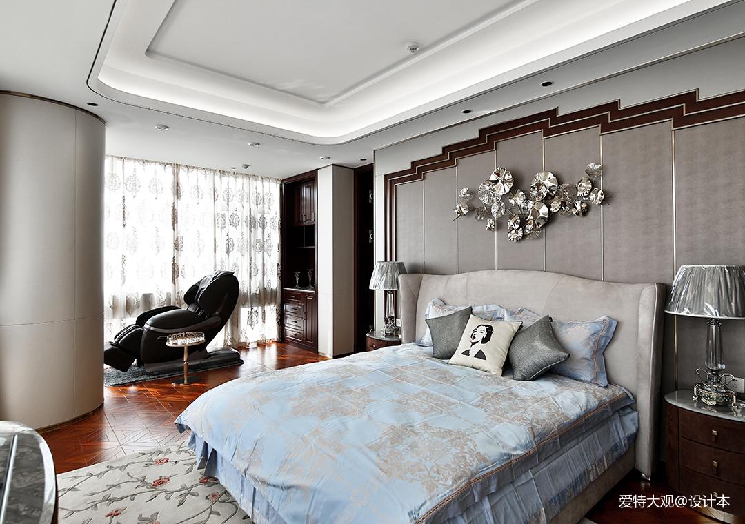 580㎡超大江景房卧室设计图