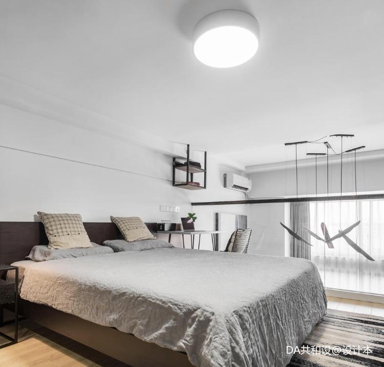温馨25平北欧小户型卧室装修美图