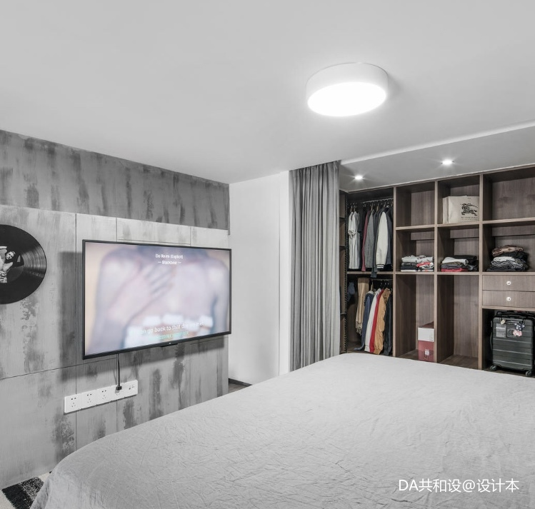 优美23平北欧小户型卧室效果图