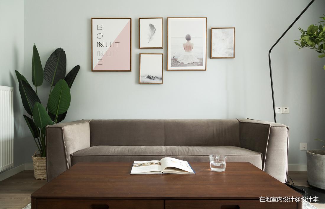 精美99平北欧三居客厅装修美图