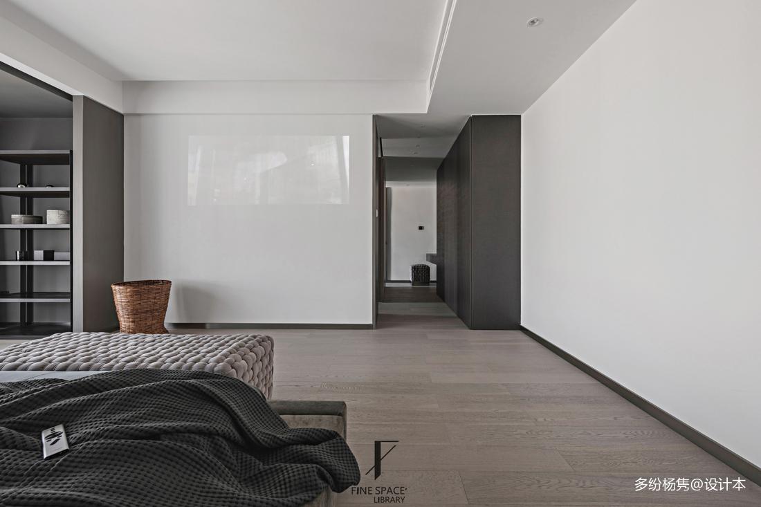 典雅71平现代复式卧室装修图片