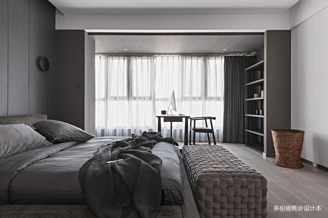 华丽46平现代复式卧室美图