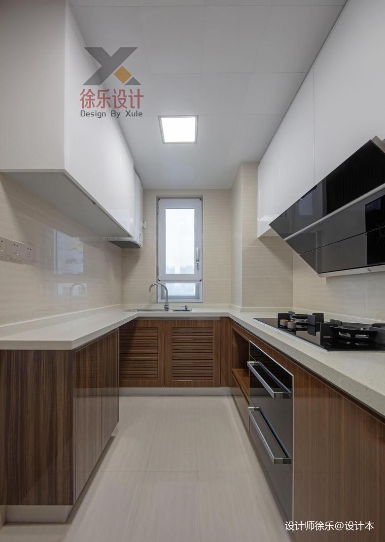 浪漫96平中式三居厨房装修装饰图