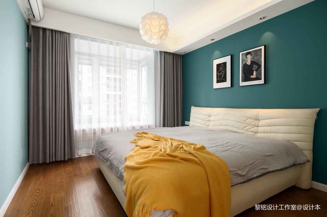 温馨114平北欧三居卧室效果图片大全