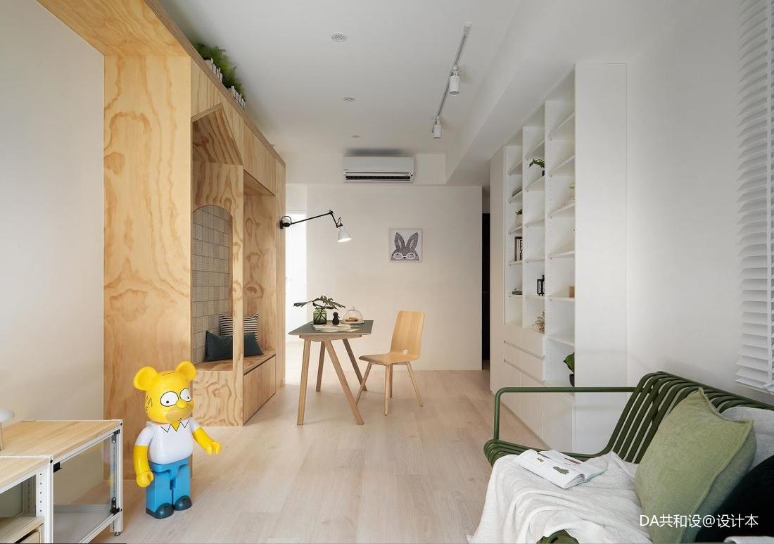 华丽21平北欧小户型客厅装修图片