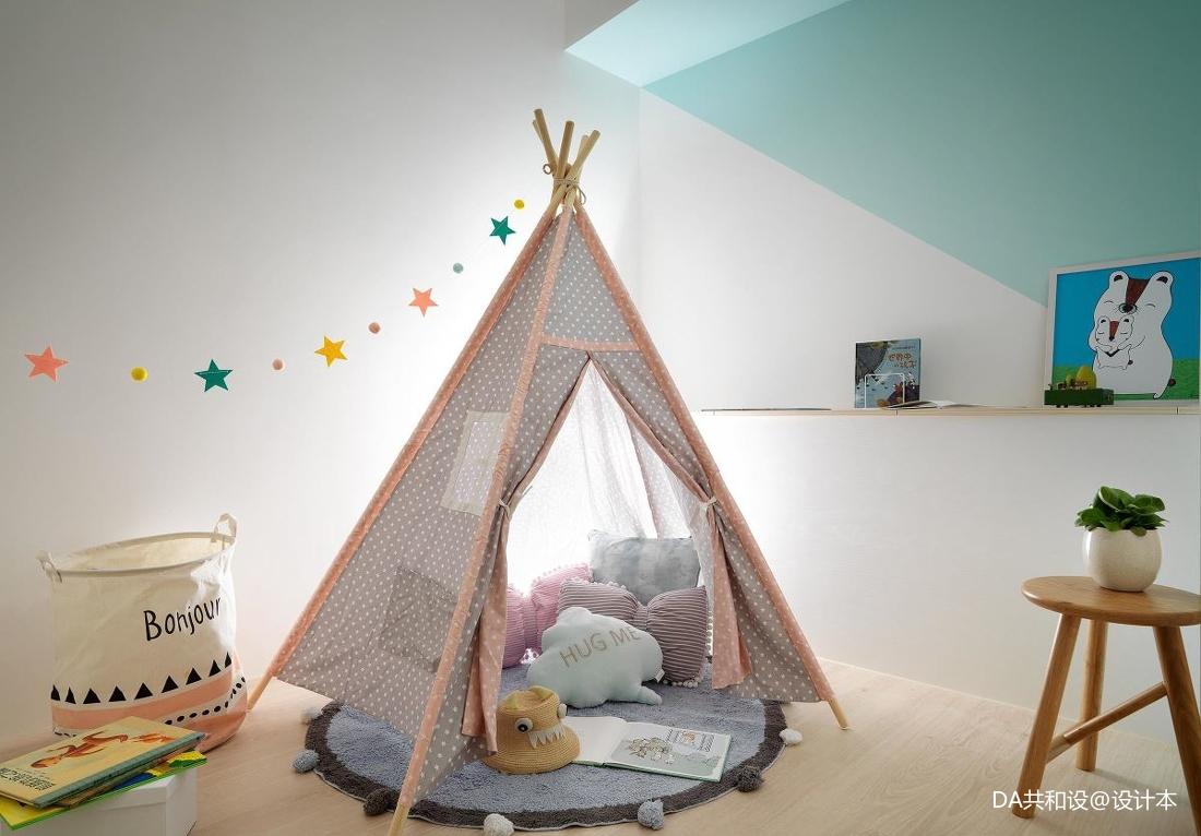 华丽29平北欧小户型儿童房设计图