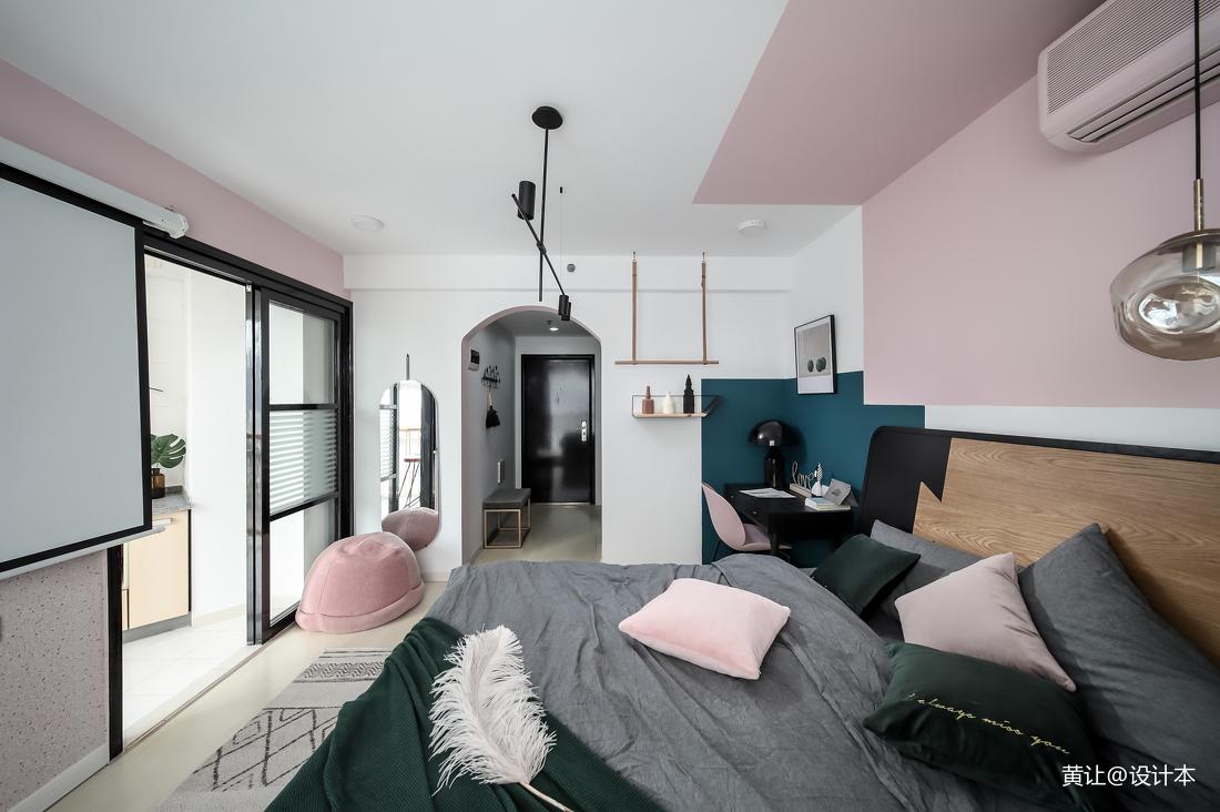 优雅20平北欧小户型卧室图片大全