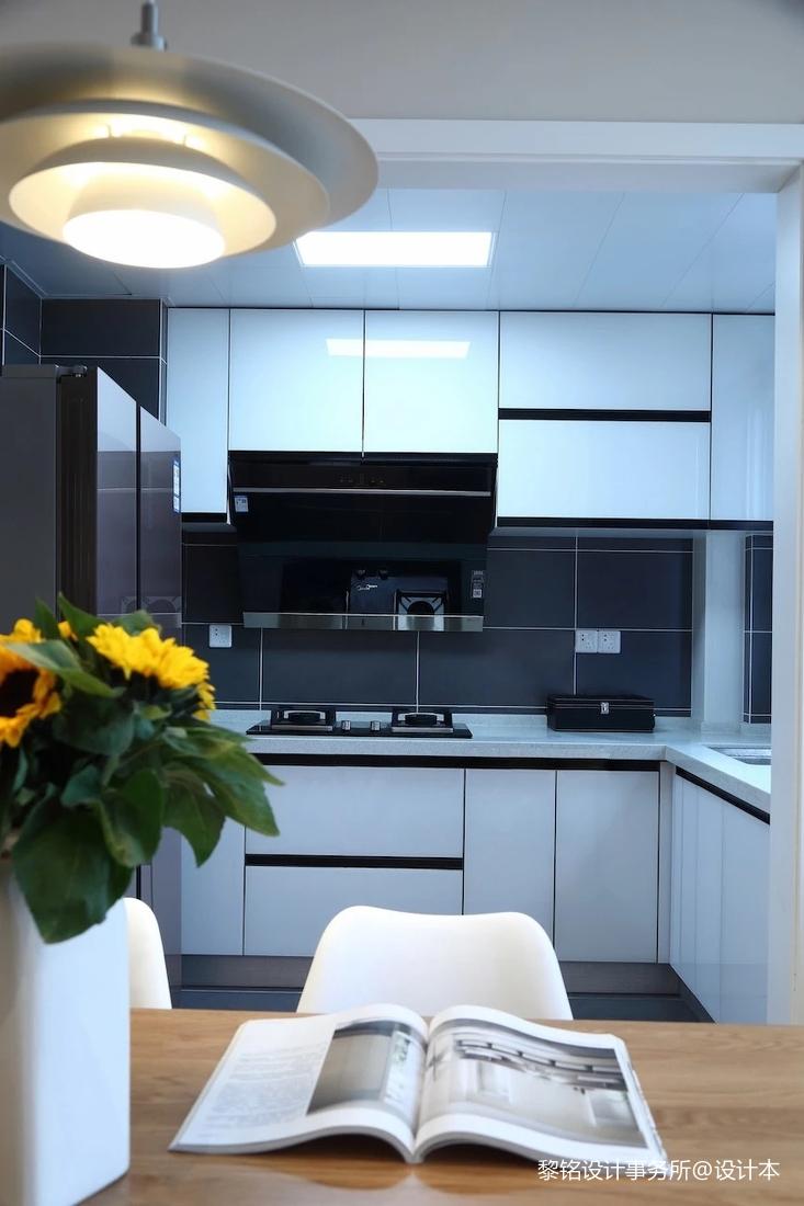 温馨79平北欧三居厨房图片大全