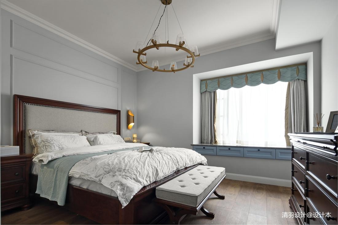 温馨105平现代四居卧室效果图片大全
