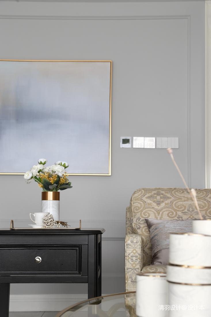 大气143平现代四居客厅装潢图
