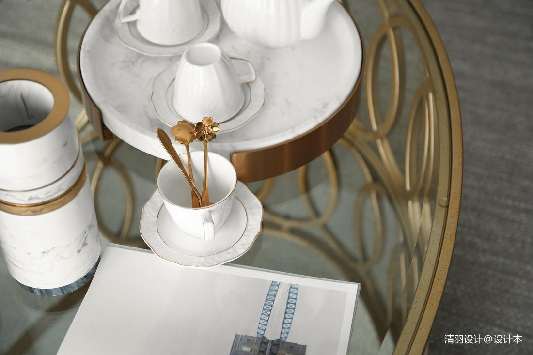 浪漫124平现代四居客厅图片欣赏