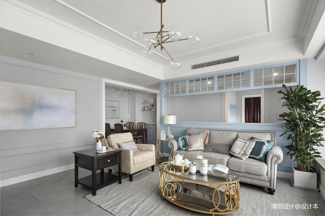 精美113平现代四居客厅装修图