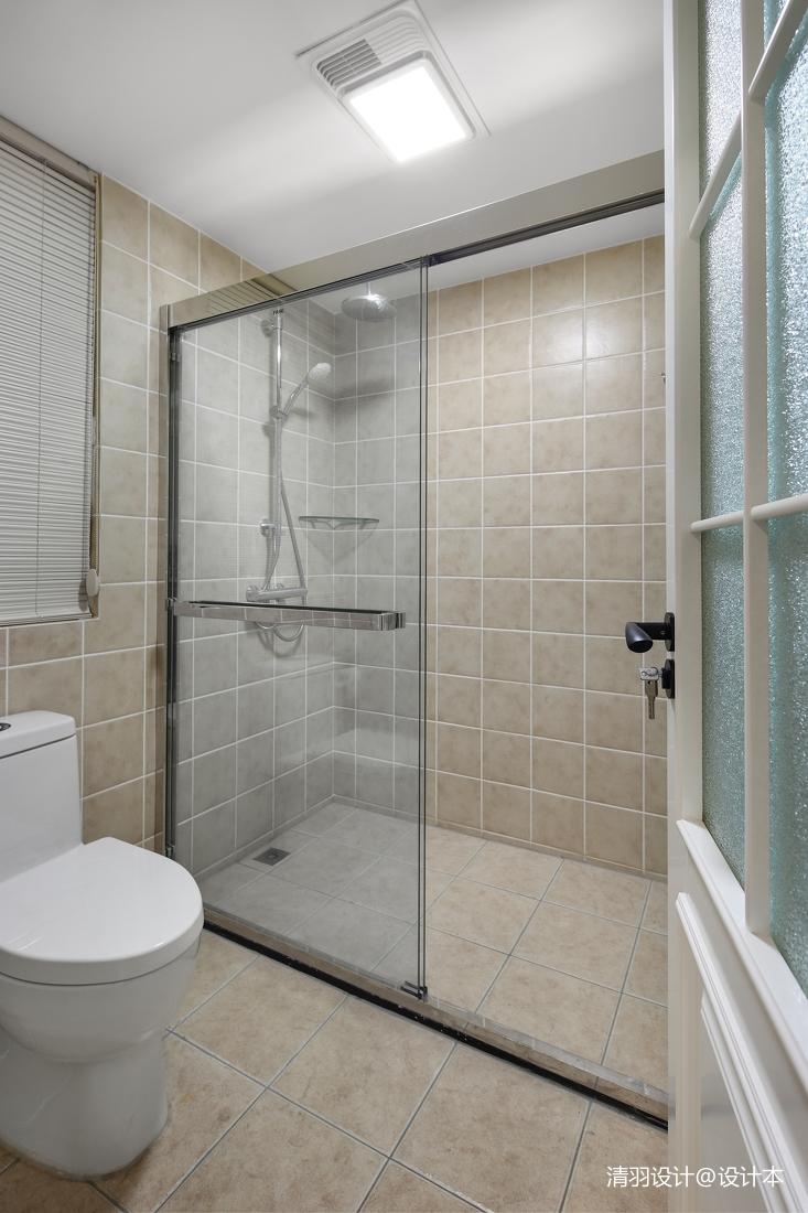 精美126平现代四居卫生间装饰图片