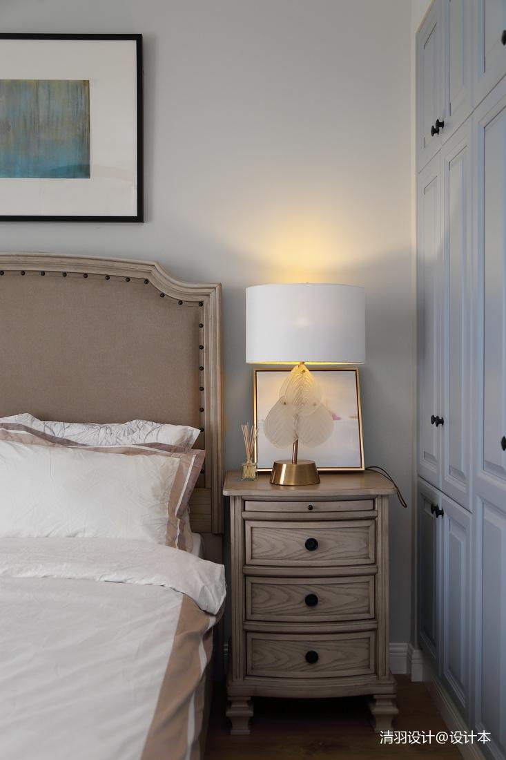 简洁147平现代四居卧室设计图