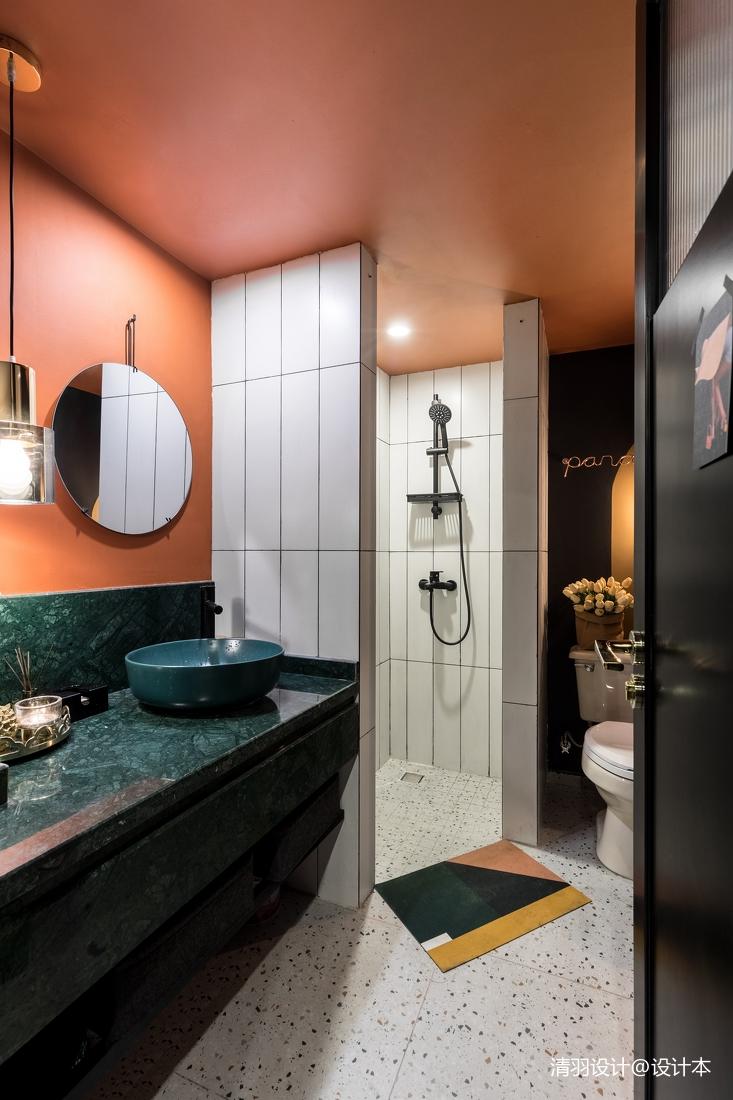 温馨76平混搭二居客厅装修效果图