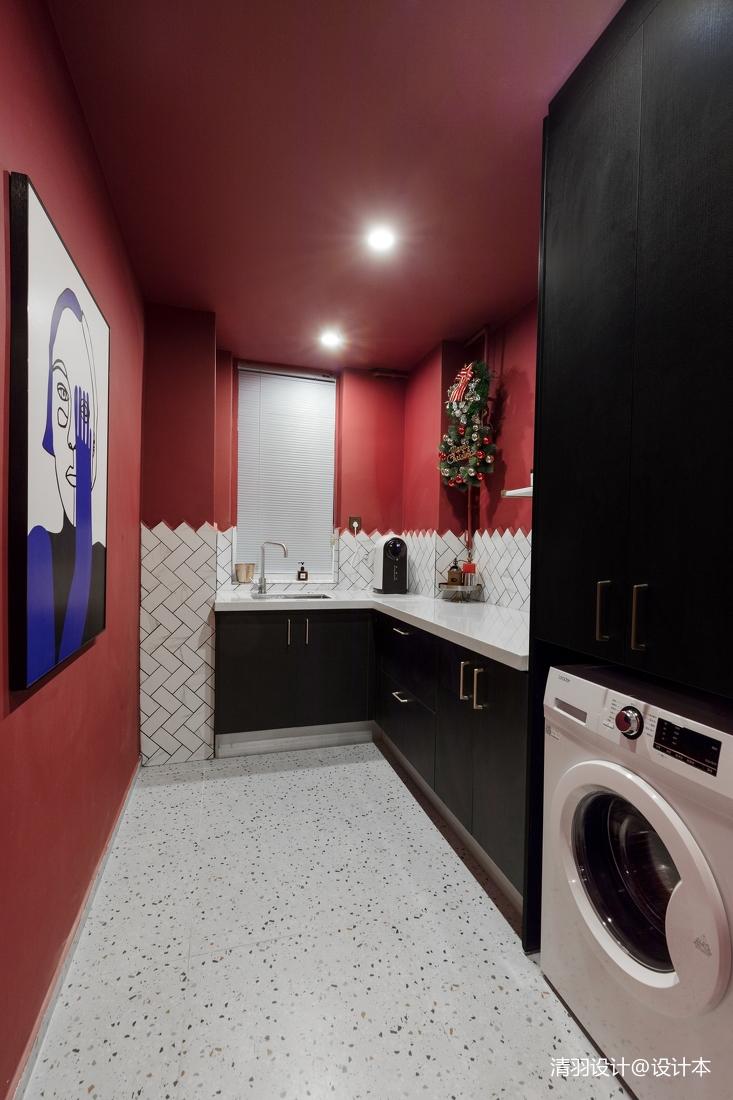 温馨63平混搭二居厨房装修图片