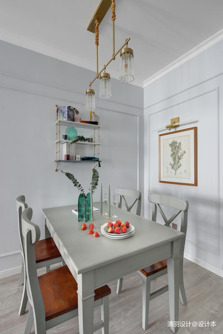 质朴58平现代二居餐厅布置图