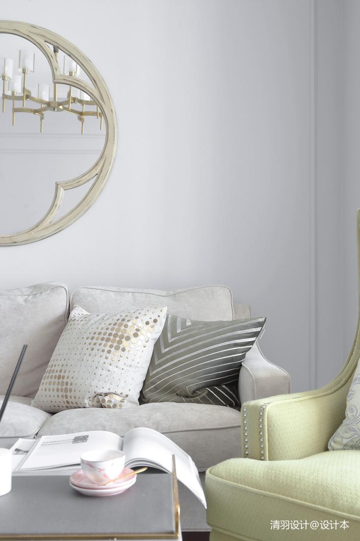 优美69平现代二居客厅设计案例