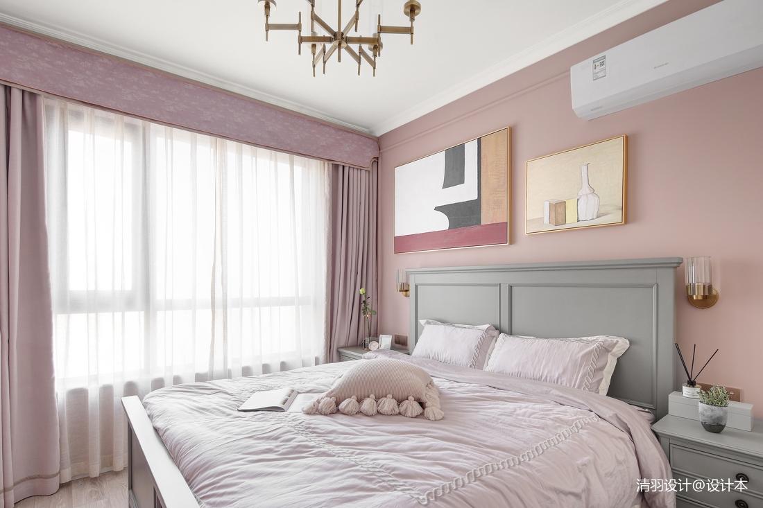 典雅63平现代二居卧室装饰美图